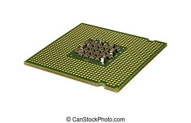 CPU - Isolated Computer Chip (CPU) - Technology Related