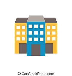 building design, Construction work repair reconstruction industry build and project theme Vector illustration