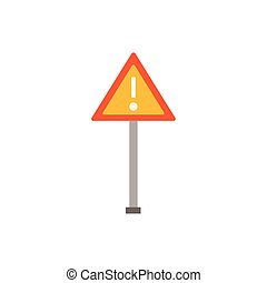 road sign design, Construction work repair reconstruction industry build and project theme Vector illustration