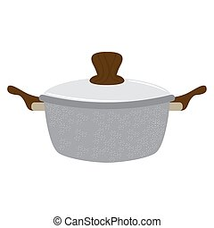 Isolated cooking pot