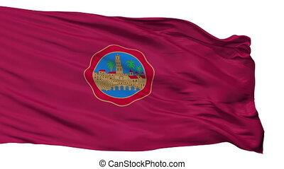 Isolated Cordoba city flag, Spain - Cordoba flag, city of...