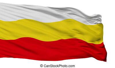 Isolated Decin city flag, Czech Republic - Decin flag, city...