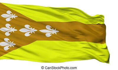 Isolated Dorado city flag, Puerto Rico - Dorado flag, city...