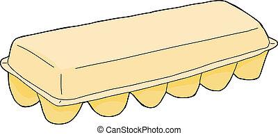 Egg carton Illustrations and Clip Art. 1,248 Egg carton ...