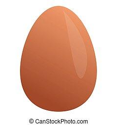 Isolated egg image