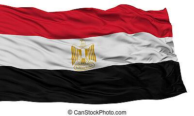 Isolated Egypt Flag