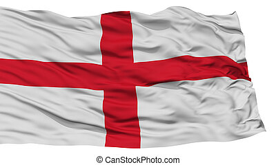 Isolated England Flag