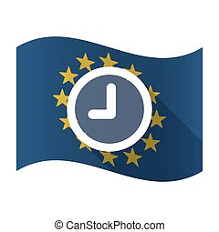 Isolated EU flaw with a clock