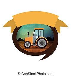 Isolated farm tractor design