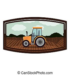 Isolated farm tractor design