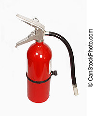 fire extinguisher - isolated fire extinguisher