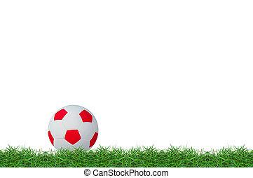 football on green grass