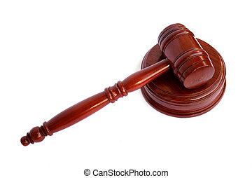 Gavel - Isolated Gavel