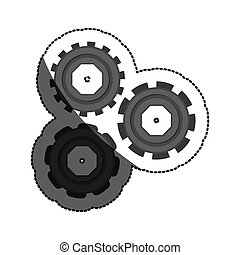 Isolated gears design