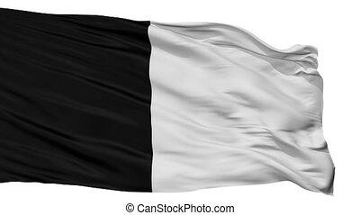 Isolated Gembloux city flag, Belgium - Gembloux flag, city...