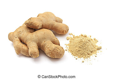 Isolated ginger