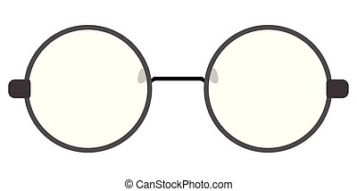 Isolated glasses icon