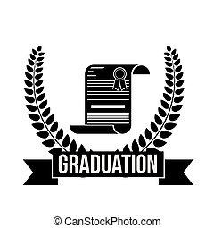 Isolated Graduation diploma design
