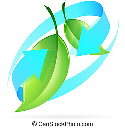 Green Leaves Icon