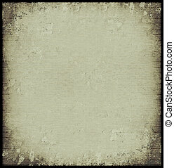 Isolated grey ribbed stone grunge background with burnt...