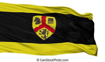 Isolated Harsewinkel city flag, Germany - Harsewinkel flag,...