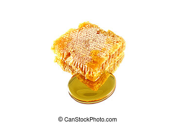 Isolated Honeycomb on a mirror