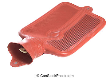 Isolated Hot Water Bottle