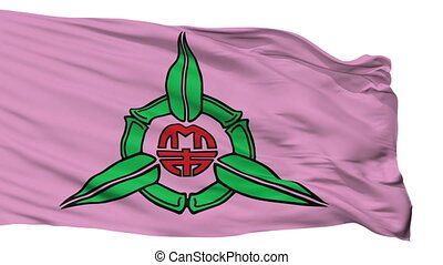 Isolated Hsinchu city flag, China - Hsinchu flag, city of...