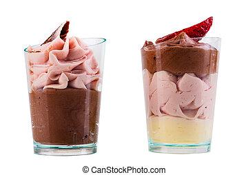 isolated ice cream shot