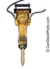 Isolated Jackhammer - Isolated Dirty And Grungy Jackhammer...