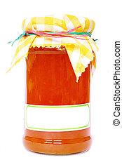 Jar of Maramalade - Isolated Jar of Maramalade