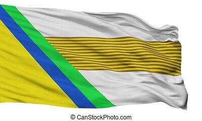 Isolated Jesus Maria city flag, Colombia - Jesus Maria flag,...