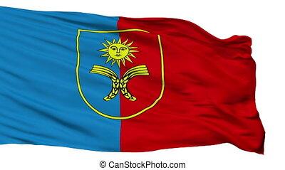Isolated Khmelnytskyi Oblast flag, Ukraine - Khmelnytskyi...