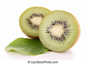 isolated kiwi