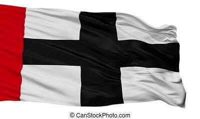 Isolated Konstanz city flag, Germany - Konstanz flag, city...