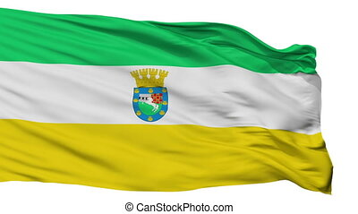 Isolated La Pintana city flag, Chile - La Pintana flag, city...