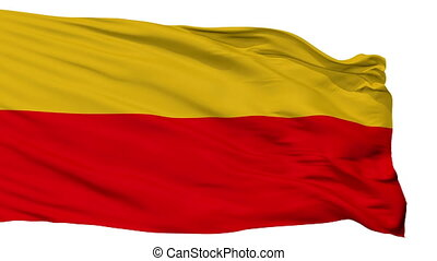 Isolated Lambayeque city flag, Peru - Lambayeque flag, city...