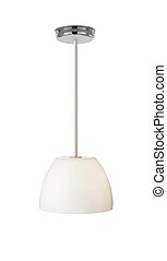 Isolated Lamp on white background