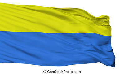 Isolated Latacunga city flag, Ecuador - Latacunga flag, city...