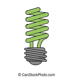 Isolated light bulb design