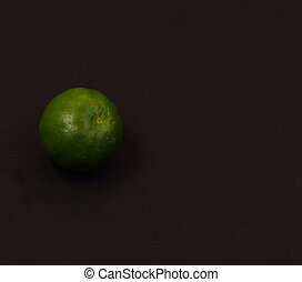 isolated lime
