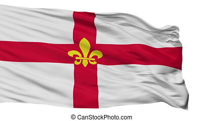 Isolated Lincoln city flag, UK - Lincoln flag, city of UK,...