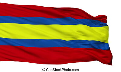 Isolated Loja city flag, Ecuador - Loja flag, city of...