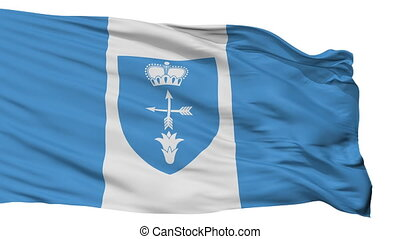 Isolated Luniniec city flag, Belarus - Luniniec flag, city...