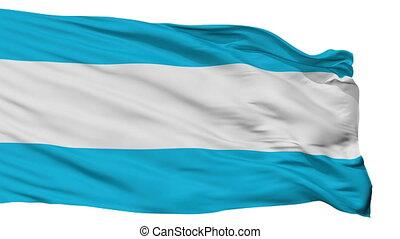Isolated Maardu city flag, Estonia - Maardu flag, city of...