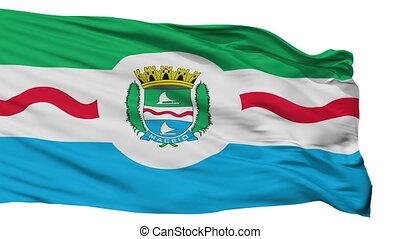 Isolated Maceio city flag, Brasil - Maceio flag, city of...