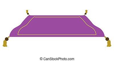 Isolated magic carpet