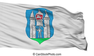 Isolated Mahilou city flag, Belarus - Mahilou flag, city of...
