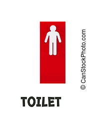 Man Sign - Toilet