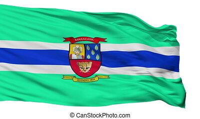 Isolated Maracay city flag, Venezuela - Maracay flag, city...